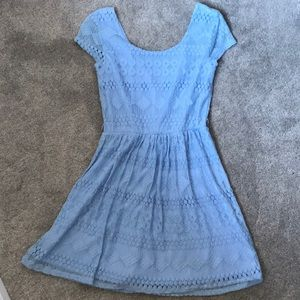 Dresses & Skirts - Baby blue dress from Charlotte Russe size small